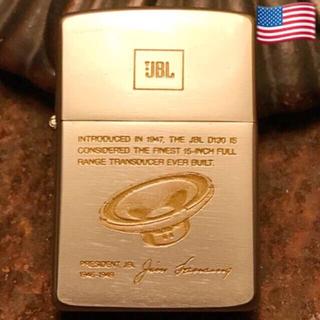 ジッポー(ZIPPO)の* 稀少‼️1988年 未使用 JBL スピーカー 限定 ZIPPO *(タバコグッズ)
