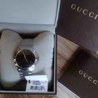 グッチ(Gucci)の【新品】GUCCI メンズ腕時計(腕時計(アナログ))