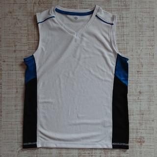 ジーユー(GU)のGU sports タンクトップ 150 ホワイト(Tシャツ/カットソー)