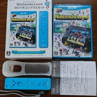 ニンテンドウ(任天堂)のNintendo Land Wii リモコンプラス(ブルー)(その他)