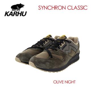 カルフ(KARHU)のKARHU SYNCHRON CLASSIC – OLIVE NIGHT(スニーカー)