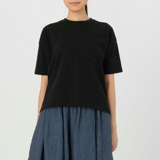 ムジルシリョウヒン(MUJI (無印良品))のこたつ様専用です 美品 無印良品 オーガニックコットンワイドTシャツ(Tシャツ(半袖/袖なし))