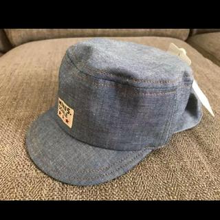 シマムラ(しまむら)の新品 ベビー 帽子 赤ちゃん 日除け キャップ(帽子)