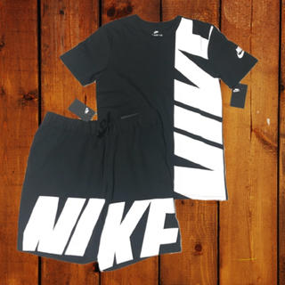 ナイキ(NIKE)の2018年新作春夏モデル✨NIKE BIGLOBE セットアップ 上下(Tシャツ/カットソー(半袖/袖なし))