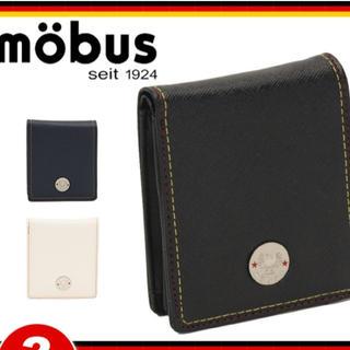 モーブス(mobus)のmobus 折財布 ブラック(折り財布)