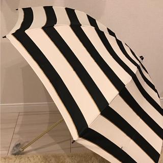 晴雨兼用  折りたたみ傘  ボーダー(傘)