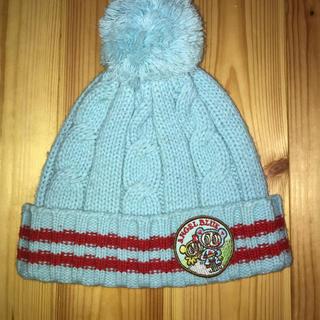 エンジェルブルー(angelblue)のエンジェルブルー ニット帽 フリーサイズ(帽子)