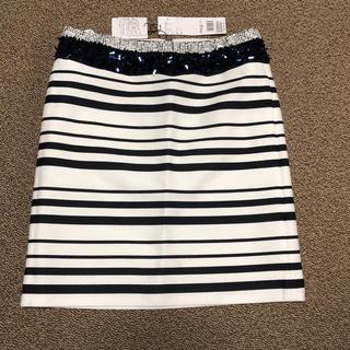 アドーア(ADORE)のアドーア スパンコールスカート(ひざ丈スカート)