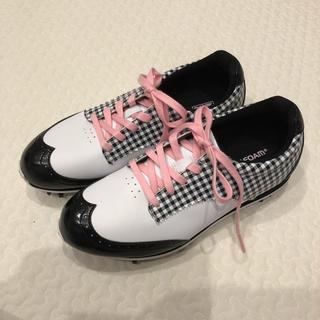 アディダス(adidas)の説明必読⚠️22.5cm adidas ゴルフ スパイク(シューズ)