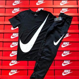 ナイキ(NIKE)の2018年新作モデル✨男女兼用 NIKE BIG SWOOSH セットアップ (Tシャツ/カットソー(半袖/袖なし))