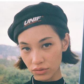 ユニフ(UNIF)のunif  ベレー帽(ハンチング/ベレー帽)