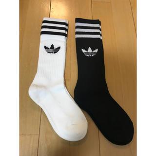 アディダス(adidas)の★新品★アディダス★靴下★2足セット★24-26(ソックス)