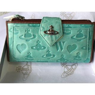 ヴィヴィアンウエストウッド(Vivienne Westwood)のVivienne westwood /グリーン 可愛いshapesデザイン (財布)