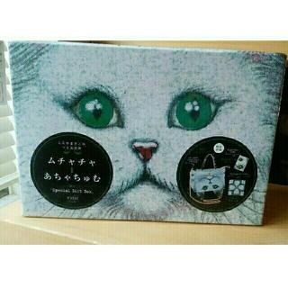 アチャチュムムチャチャ(AHCAHCUM.muchacha)のあちゃちゅむspecial gift box 新品未使用 猫バッグ(ハンドバッグ)