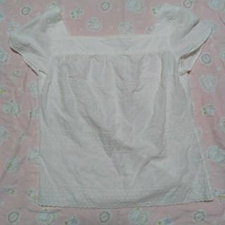 ドゥファミリー(DO!FAMILY)のドゥファミリィ 白 カットソー Mサイズ(カットソー(半袖/袖なし))