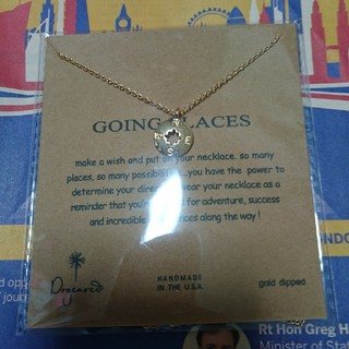 DOGEARED 願いの叶うネックレス going places