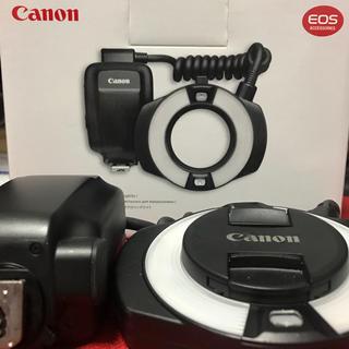 キヤノン(Canon)のCanon マクロリングライト MR-14EX Ⅱ(ストロボ/照明)