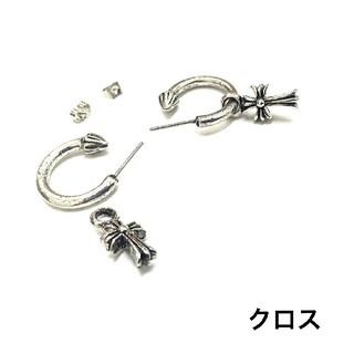 145 【取り外し可能】フープ ピアス 片耳  (ピアス(片耳用))