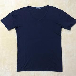 サンスペル(SUNSPEL)のサンスペル Vネック カットソー 美品(Tシャツ/カットソー(半袖/袖なし))