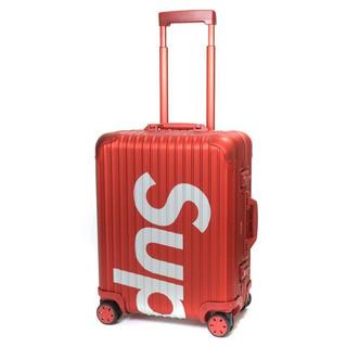 シュプリーム(Supreme)のSupreme x RIMOWA スーツケース(トラベルバッグ/スーツケース)
