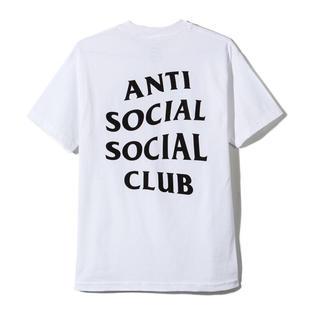 アンチ(ANTI)のANTI SOCIAL SOCIAL CLUB Tee Tシャツ M 白 WHT(Tシャツ/カットソー(半袖/袖なし))