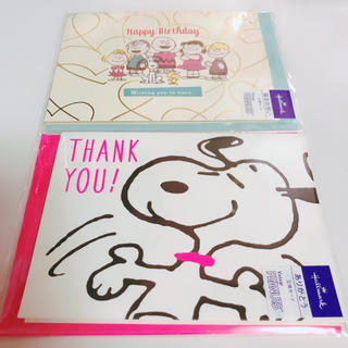 SNOOPY - スヌーピー お誕生日カード 立体カード キャラクター