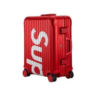 リモワ(RIMOWA)の送料込!Supreme RIMOWA Topas 45L 赤&黒セット!②(トラベルバッグ/スーツケース)