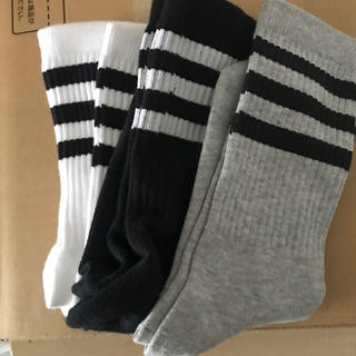 アディダス(adidas)のadidas 靴下 3足セット(ソックス)