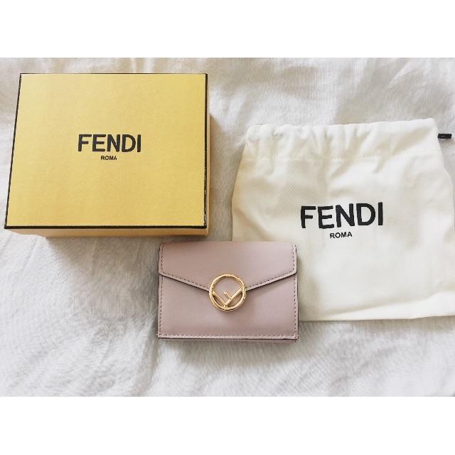 6d1ac6d0ddee FENDI(フェンディ)の新品同様 FENDI フェンディ ミニ財布 マイクロ三つ折り財布 レディース