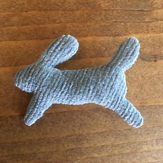 ミナペルホネン(mina perhonen)のミナペルホネン  ウサギのブローチ(ブローチ/コサージュ)