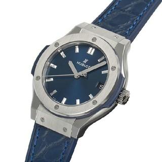 ウブロ(HUBLOT)のウブロ クラシックフュージョン ブルー チタニウム(腕時計(アナログ))
