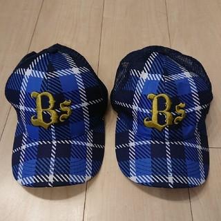 オリックスバファローズ(オリックス・バファローズ)の〈おそろい帽子〉ORIX BUFFALOES キッズ用キャップ (帽子)