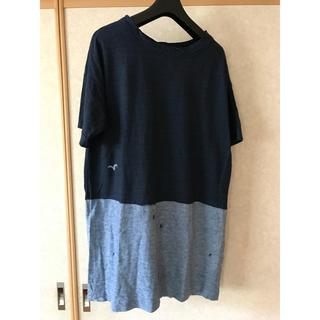 フォーティーファイブアールピーエム(45rpm)の45rpm  カモメデザイン チュニックTシャツ(チュニック)