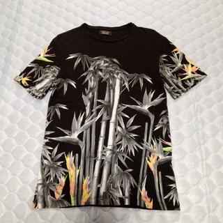 ザラ(ZARA)のZARA ザラ 和柄 竹プリント Tシャツ(Tシャツ/カットソー(半袖/袖なし))
