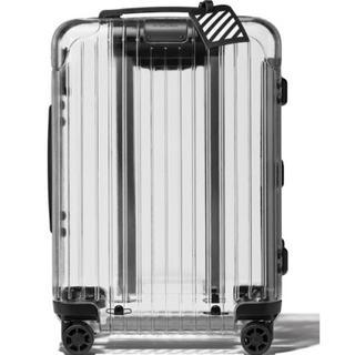 オフホワイト(OFF-WHITE)のRIMOWA × off-white スケルトン スーツケース(トラベルバッグ/スーツケース)