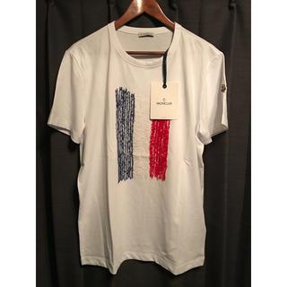 モンクレール(MONCLER)のMONCLER モンクレール メンズ トリコロール フランス国旗ロゴTシャツ(Tシャツ/カットソー(半袖/袖なし))