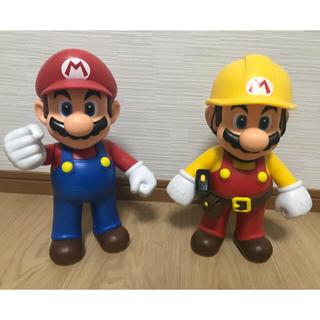 ニンテンドウ(任天堂)のマリオ ビッグ フィギュア(ゲームキャラクター)