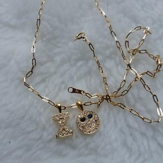 アイファニー(EYEFUNNY)のアイファニー ミドルSチェーン Mサイズ(45センチ)(ネックレス)