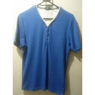 エービーエックス(abx)の☆★☆ abx Mサイズ 青い Tシャツ ☆★☆(Tシャツ/カットソー(半袖/袖なし))