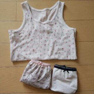 ジーユー(GU)の子供下着セット サイズ110(下着)