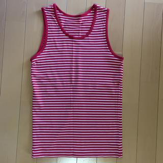 ジーユー(GU)のボーダー タンクトップ★ GU ★ 150(Tシャツ/カットソー)