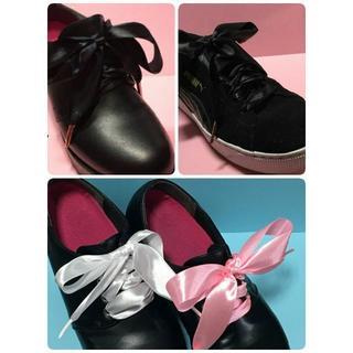 ache様専用★2.5センチ・サテンリボン・シューレース★靴ひも♥2セット(その他)