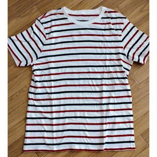 ムジルシリョウヒン(MUJI (無印良品))のボーダー Tシャツ 無印(Tシャツ/カットソー(半袖/袖なし))