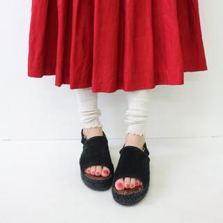 クツシタヤ(靴下屋)の【靴下屋】リブメローセパレートレギンスレッグウォーマー(レッグウォーマー)