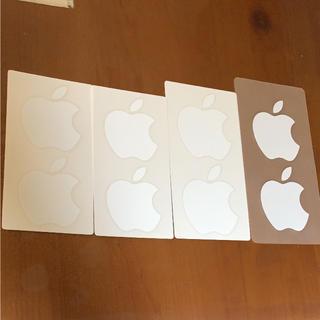 アップル(Apple)のApple ロゴ シール ステッカー(ノベルティグッズ)
