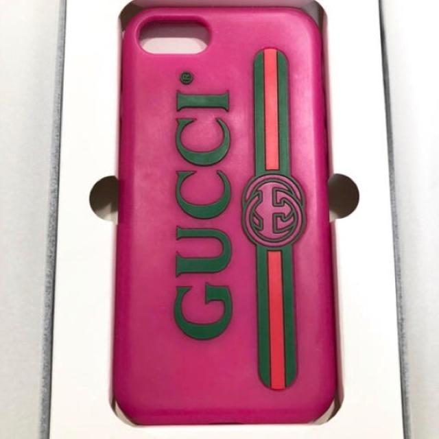 Gucci - gucci iPhoneケースの通販 by ぽん's shop|グッチならラクマ