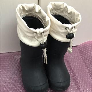 ムジルシリョウヒン(MUJI (無印良品))の無印良品キッズレインブーツ16〜17センチ!(長靴/レインシューズ)