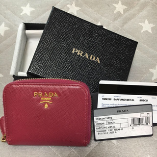 プラダ(PRADA)のPRADA コインケース IBISCO (コインケース)