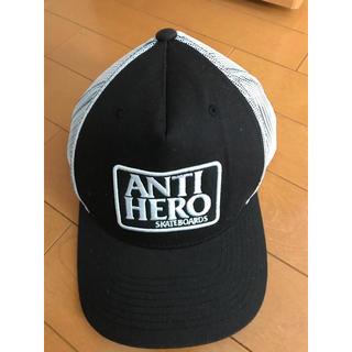 アンチヒーロー(ANTIHERO)のANTI HERO メッシュキャップ ブラック(キャップ)