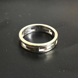 グッチ(Gucci)のGUCCI 指輪 13号 ホワイトゴールド(リング(指輪))